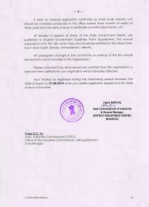 CSPO Certificate – Back