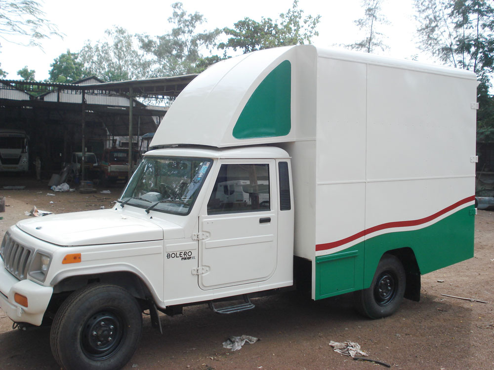 Delivery Van Laxmi Auto Body Builders